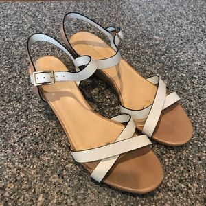 633e7b322425 Cole Haan Shoes - Cole Haan Melrose Low-Wedge Sandal